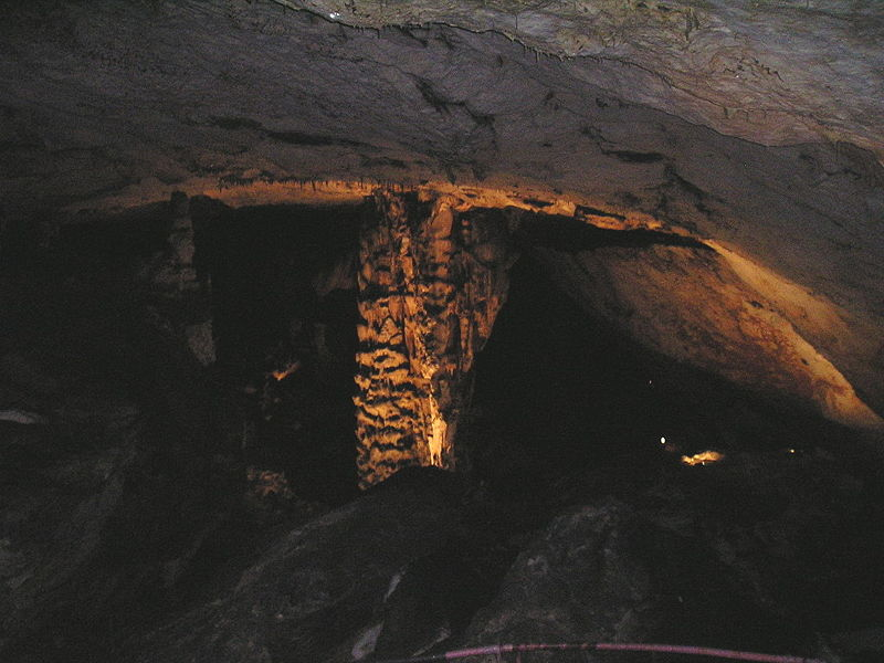 Magura cave rock formations
